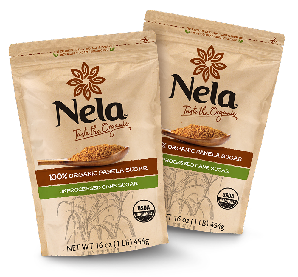 2 pack of 1lb bags of Nela panela sugar